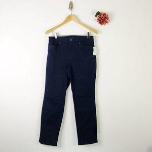 SUSAN GRAVER Straight Stretch Jeans